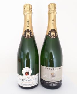 Champagne Plaque & Muselet Locret-Lachaud Brut Hautvillers Magnum