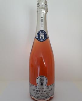 Champagne Plaque & Muselet Locret-Lachaud Rosé Hautvillers 75cl